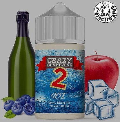 Crazy Chvmpvgne V2 Ice 50ml-Crazy Juices (Mukk Mukk)