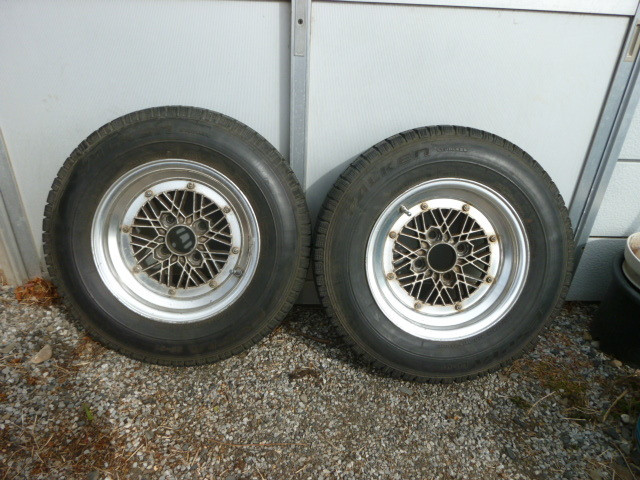SSR Winmesh relipped wheel