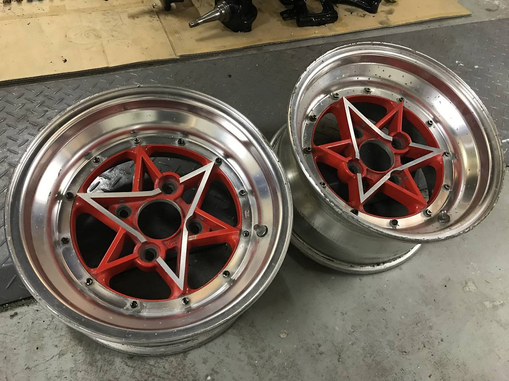 SSR RIII Star wheel JDM