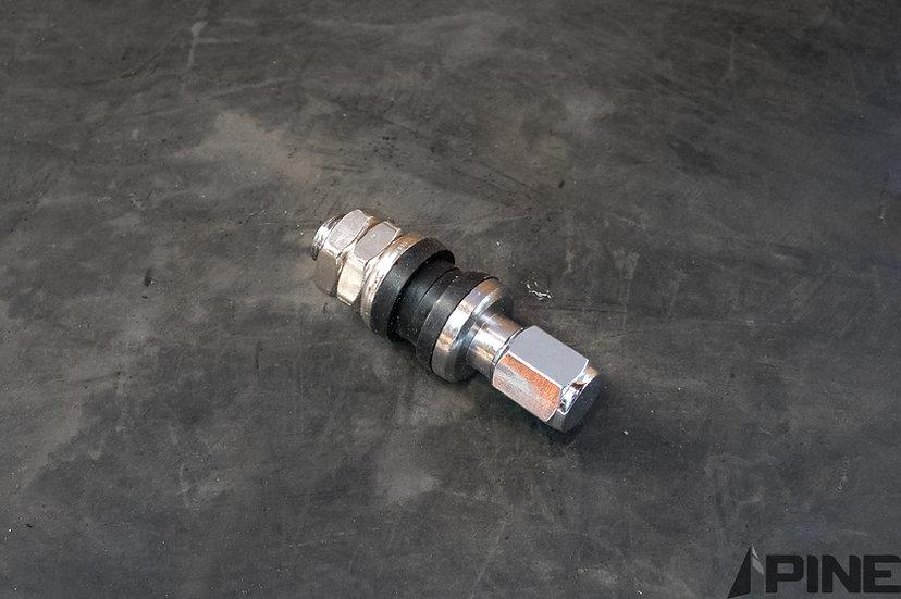 Metal valvestem