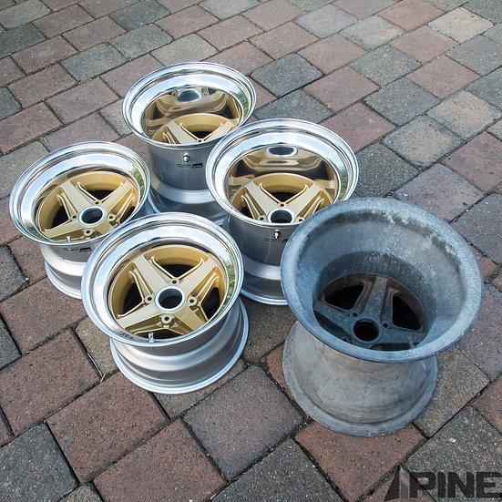 Custom Design Three Piece Wheels