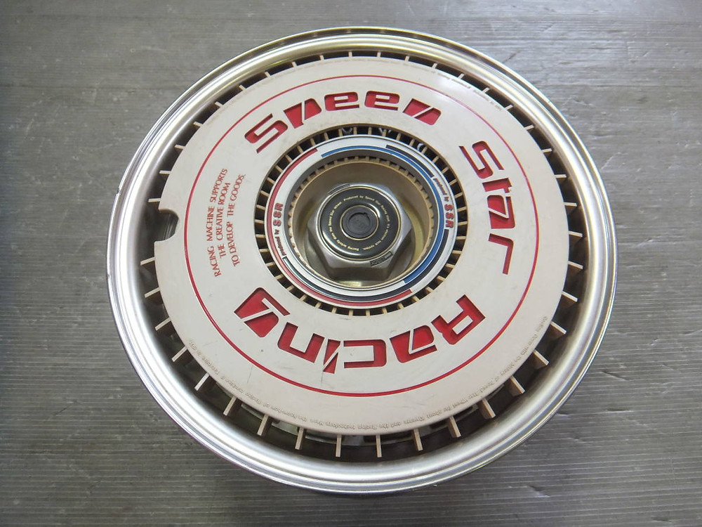 SSR EX-C Aero cover three piece wheel