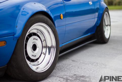 Mazda Miata Roadster MX5 Three Piece Wheel