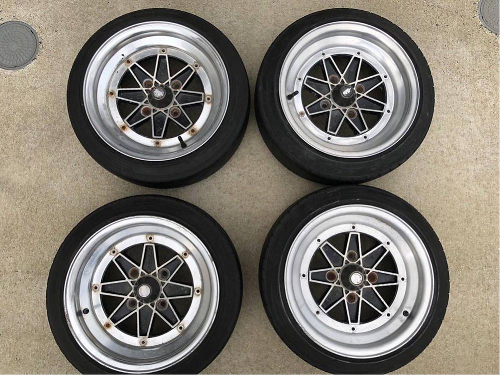 SSR Jilba Racing three piece JDM