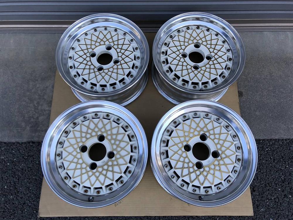 Sanko Metal Mesh Aero wheel