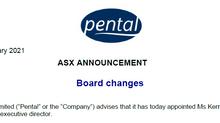 Pental Ltd Appoints Non-Executive Director