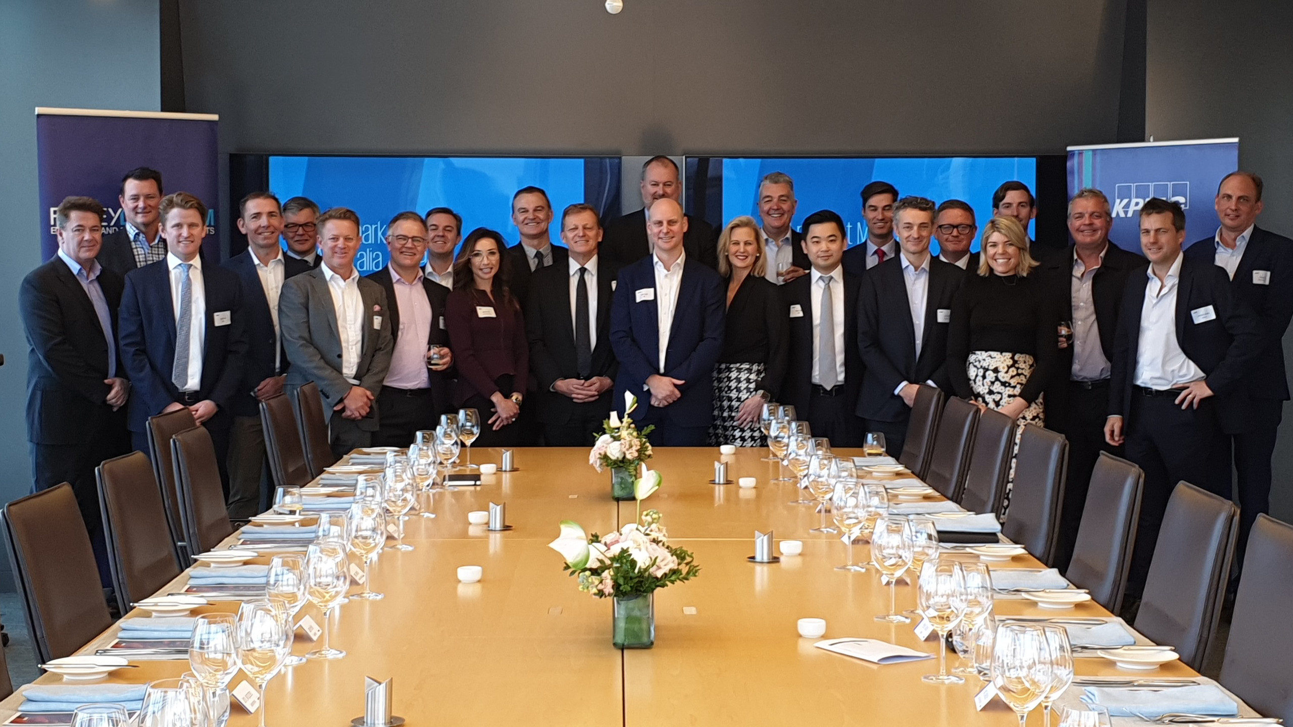 190724 KPMG Lunch group
