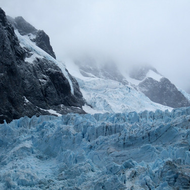 Glacier, Drygalski Fjord