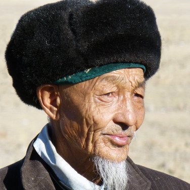 Old Man of the Altai Mountains