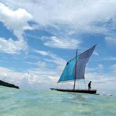 Kula Canoe, Deboyne Lagoon, Papua New Guinea