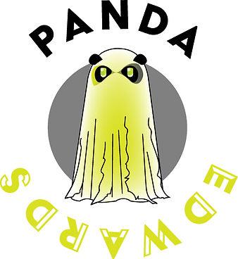 Panda brillant dans le noir