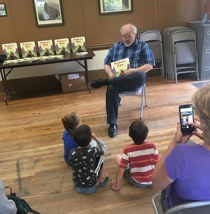 Reading at the Animas Museum Durango