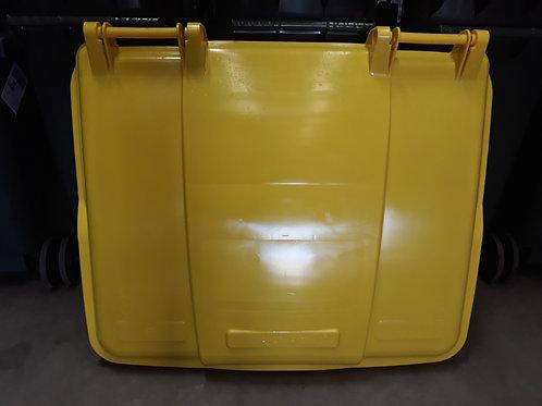 Otto 1100L Yellow Bin Lid