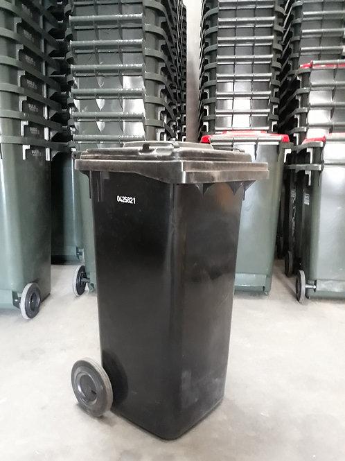 120L Black Wheelie Bin