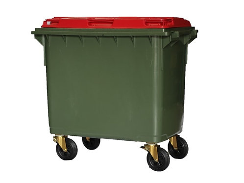 Australian Made MGB 1100L 4 wheel wheelie bin