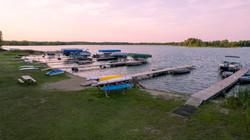 Docks & Beach Area