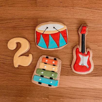 עוגיות בקונספט מוזיקה