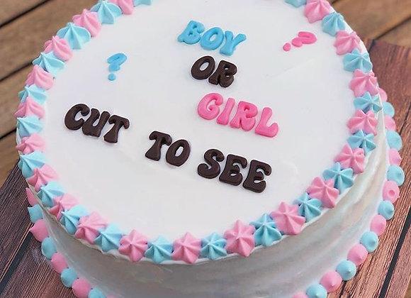 עוגה לגילוי מין העובר