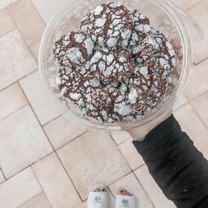 עוגיות מושלגות כשרות לפסח