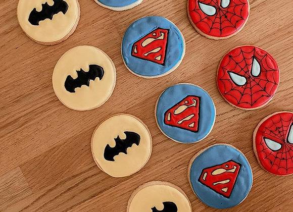 עוגיות גיבורי על