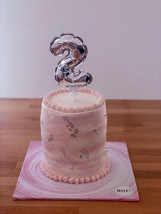 עוגה אפויה (קוטר 16 גובה כפול)