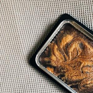 עוגת שיש שוקולד-לוז