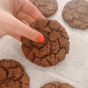 עוגיות שוקולד בכמה דקות