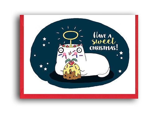 Have A Sweet Christmas Cat
