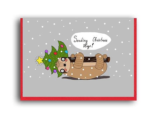 Sending Christmas Hugs