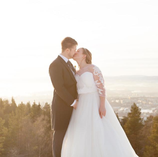 Bryllupsfotograf Eidsvoll