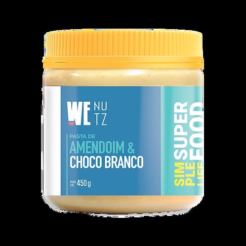 Pasta de Amendoim com Chocolate Branco 450g
