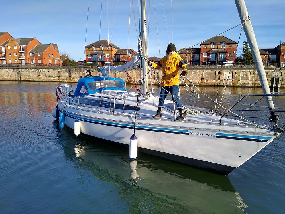 Sailing mooring