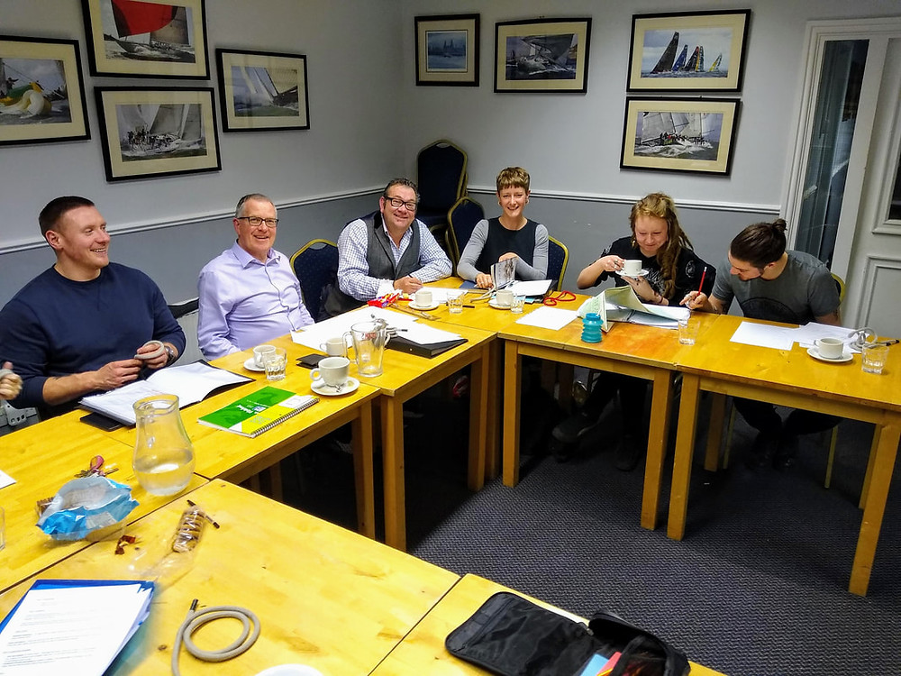 Sailing theory course