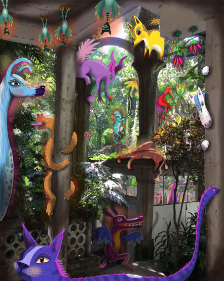 What I saw at Edward James' Garden in Las Pozas