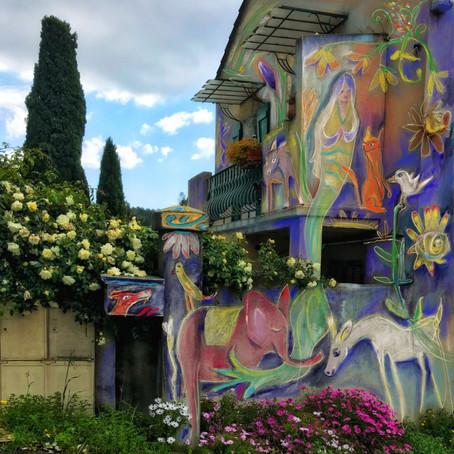 Mural prep Italy