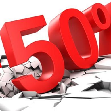Opération -50%