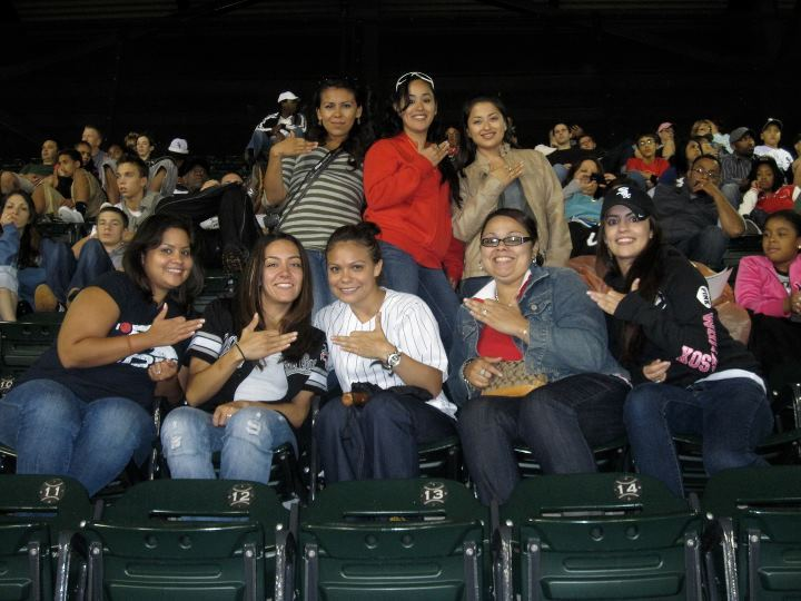 Phi Alpha at a White Sox Game