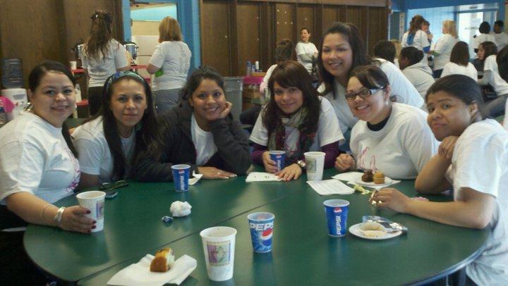 Volunteers at Coffee Break