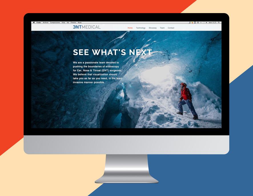 Website - Splash screen