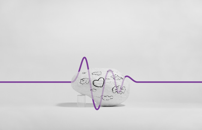 My brain when i'm- In Love
