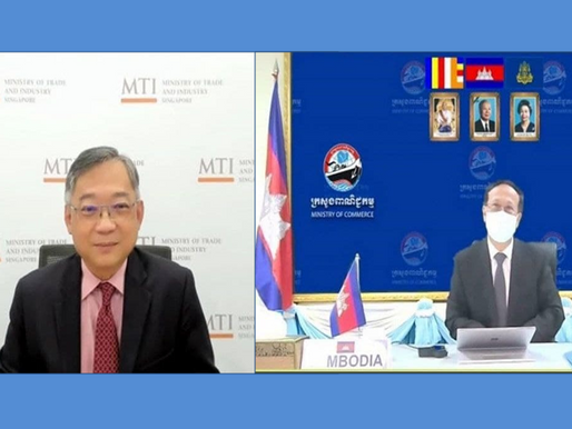 Cambodia, Singapore Reaffirm Bilateral Trade and Investment Cooperation