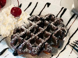 12-16-18  Chocolate Waffle with sugar.jp