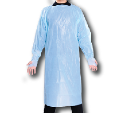 Polyethylene Disposable Gown