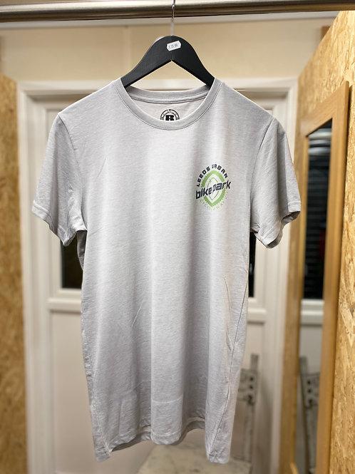 LUBP Grey mens logo T-shirt