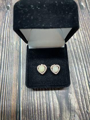 Heart Halo Earrings