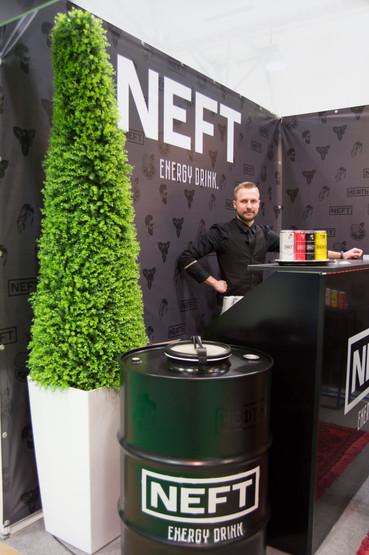 NEFT energy drink prodexpo