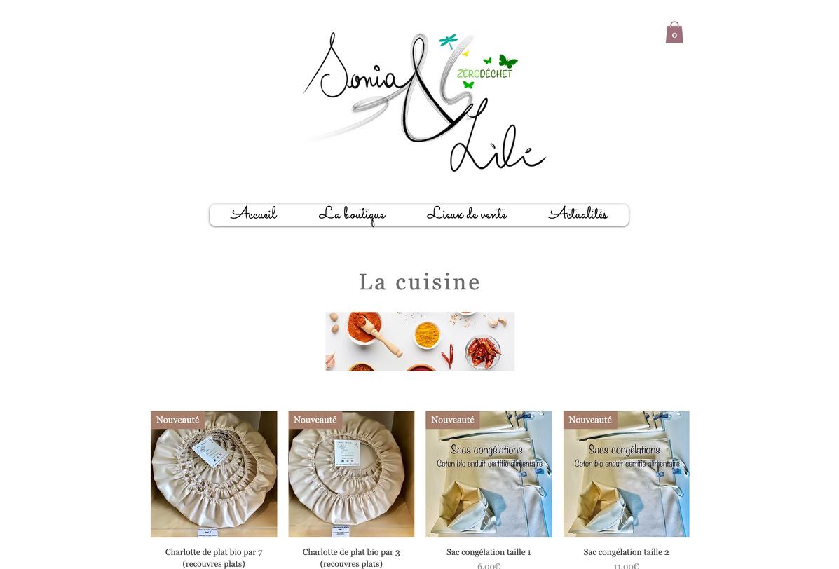 Boutique : la cuisine