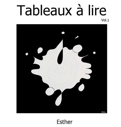 """Livre """"Tableaux à lire"""""""