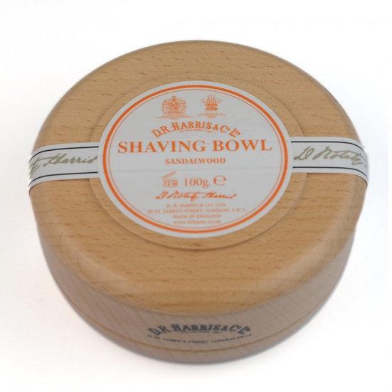 D.R. Harris Sandalwood Barbersæbe i Bøgetræs skål 100 g