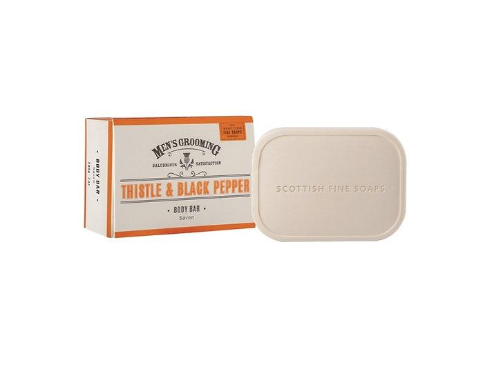 The Scottish Fine Soaps Company Thistle & Black Pepper Sæbebar 220 g